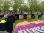 Magische ballonvlucht opgestegen op opstijglocatie Alphen aan den rijn op woensdag 1 mei 2019