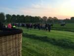 Heerlijke luchtballon vaart gestart in Alphen aan den rijn op woensdag 1 mei 2019