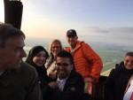Ultieme ballonvlucht opgestegen op startveld Alphen aan den rijn op woensdag 1 mei 2019