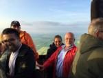 Ongelofelijke mooie ballon vlucht vanaf startveld Alphen aan den rijn op woensdag 1 mei 2019