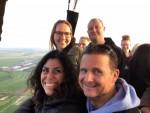 Voortreffelijke luchtballon vaart gestart in Alphen aan den rijn op woensdag 1 mei 2019