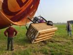 Perfecte luchtballonvaart over de regio Deurne op woensdag 1 mei 2019