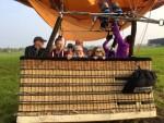 Betoverende heteluchtballonvaart gestart op opstijglocatie Deurne op woensdag 1 mei 2019