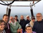 Ongekende ballonvaart omgeving Deurne op woensdag 1 mei 2019