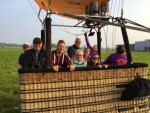 Spectaculaire ballonvlucht over de regio Deurne op woensdag 1 mei 2019