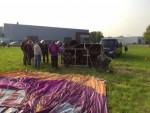 Perfecte heteluchtballonvaart regio Deurne op woensdag 1 mei 2019