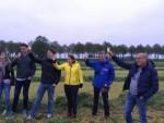 Fascinerende heteluchtballonvaart in de omgeving van Joure op woensdag 1 mei 2019