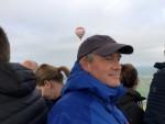 Jaloersmakende ballonvlucht opgestegen op startlocatie Joure op woensdag 1 mei 2019
