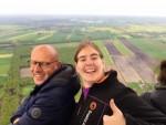 Bijzondere ballon vlucht in de omgeving van Joure op woensdag 1 mei 2019