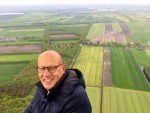 Magnifieke luchtballonvaart over de regio Joure op woensdag 1 mei 2019