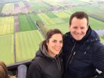 Sublieme ballon vlucht vanaf startlocatie Joure op woensdag 1 mei 2019
