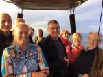 Formidabele ballon vlucht opgestegen in Apeldoorn woensdag 13 juni 2018