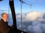 Plezierige ballon vlucht boven de regio Apeldoorn woensdag 13 juni 2018