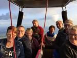 Relaxte ballon vlucht startlocatie Apeldoorn woensdag 13 juni 2018