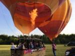 Exceptionele heteluchtballonvaart gestart in Beesd woensdag 13 juni 2018