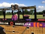 Sublieme luchtballonvaart gestart in Beesd woensdag 13 juni 2018