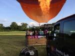 Ongekende luchtballon vaart vanaf startveld Beesd woensdag 13 juni 2018