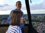 Onovertroffen heteluchtballonvaart in de buurt van Deurne woensdag 13 juni 2018