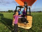 Bijzondere luchtballon vaart opgestegen op startveld Deurne woensdag 13 juni 2018