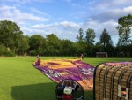 Magnifieke ballonvlucht opgestegen op startlocatie Luttenberg woensdag 13 juni 2018