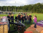 Voortreffelijke luchtballonvaart startlocatie Luttenberg woensdag 13 juni 2018