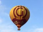 Feestelijke ballonvlucht boven de regio Apeldoorn op woensdag 15 augustus 2018