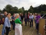Prettige ballonvaart opgestegen in Apeldoorn op woensdag 15 augustus 2018