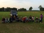 Prettige luchtballonvaart over de regio Apeldoorn op woensdag 15 augustus 2018