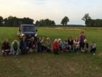 Uitmuntende luchtballonvaart gestart op opstijglocatie Apeldoorn op woensdag 15 augustus 2018