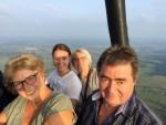 Voortreffelijke luchtballonvaart boven de regio Apeldoorn op woensdag 15 augustus 2018