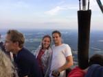 Exceptionele heteluchtballonvaart in de buurt van Horst op woensdag 15 augustus 2018
