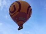 Hoogstaande ballonvaart vanaf opstijglocatie Horst op woensdag 15 augustus 2018