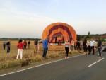 Fabuleuze ballonvaart opgestegen op startlocatie Horst op woensdag 15 augustus 2018