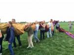 Overweldigende ballonvlucht in de omgeving van 's-hertogenbosch op woensdag 15 augustus 2018