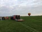 Adembenemende ballonvlucht gestart in 's-hertogenbosch op woensdag 15 augustus 2018