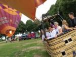 Heerlijke ballonvlucht over de regio 's-hertogenbosch op woensdag 15 augustus 2018