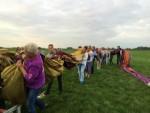 Sublieme luchtballonvaart vanaf startlocatie 's-hertogenbosch op woensdag 15 augustus 2018
