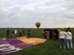 Professionele ballonvlucht opgestegen op startveld 's-hertogenbosch op woensdag 15 augustus 2018