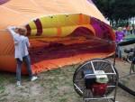Betoverende ballon vlucht gestart in 's-hertogenbosch op woensdag 15 augustus 2018
