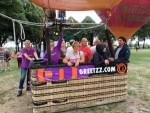 Bijzondere heteluchtballonvaart opgestegen in 's-hertogenbosch op woensdag 15 augustus 2018