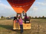 Exceptionele ballonvaart in de omgeving van Arnhem op woensdag 17 oktober 2018