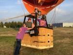 Comfortabele ballonvaart gestart op opstijglocatie Arnhem op woensdag 17 oktober 2018