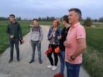 Jaloersmakende ballonvaart in de buurt van Arnhem op woensdag 17 oktober 2018