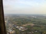 Bijzondere luchtballon vaart startlocatie Arnhem op woensdag 17 oktober 2018