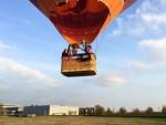 Fascinerende luchtballon vaart boven de regio Arnhem op woensdag 17 oktober 2018