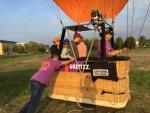 Exceptionele luchtballonvaart opgestegen op opstijglocatie Arnhem op woensdag 17 oktober 2018