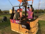Buitengewone heteluchtballonvaart opgestegen in Arnhem op woensdag 17 oktober 2018