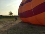 Spectaculaire heteluchtballonvaart opgestegen op startlocatie Arnhem op woensdag 17 oktober 2018
