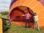 Ultieme luchtballonvaart in de regio Arnhem op woensdag 17 oktober 2018