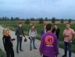 Uitzonderlijke ballon vaart boven de regio Arnhem op woensdag 17 oktober 2018